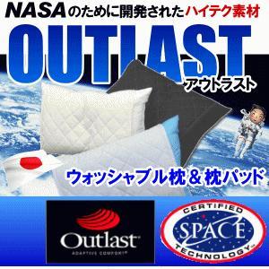 アウトラスト  枕パッド ウォッシャブル枕 2点セット 日本製 ゴールドラベル 冷感|livingdays