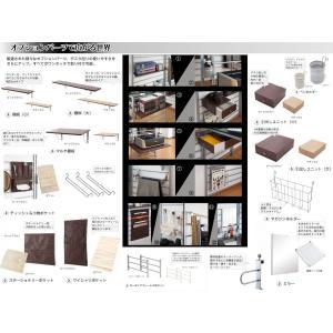 突っ張りシステムデスクパーテーション60幅 ガラス天板 システムデスクシリーズ|livingdays|03