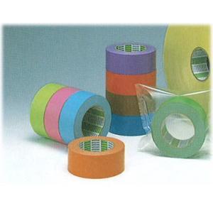 テープ 着色クラフトテープ  50m(長さ)*50mm(幅)50巻 KC-200|livingdays