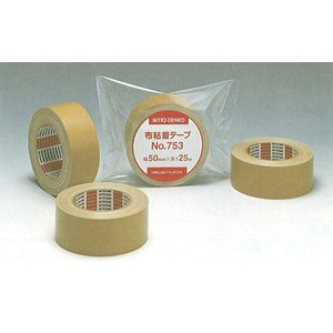布粘着テープ 25m(長さ)*50mm(幅)30巻 NO.753|livingdays