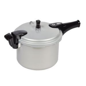 パール金属 ホットクッキング アルミ IH対応 圧力 鍋 6.0L 1升炊 HB-378|livingheart