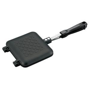 BBQ用 キャスト アルミホットサンドトースター 直火 トーストメーカーUG-3005 キャプテンスタッグ|livingheart
