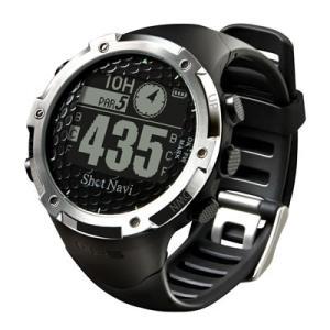 GPSゴルフナビShotNavi 腕時計型 W1−FW(ブラック)|livingheart