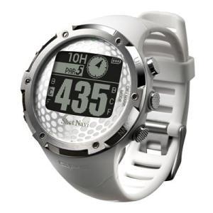 GPSゴルフナビShotNavi 腕時計型 W1−FW(ホワイト)|livingheart