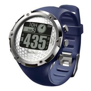 GPSゴルフナビShotNavi 腕時計型 W1−FW(ネイビー)|livingheart