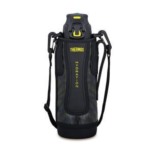 真空断熱スポーツボトル ワンタッチオープンタイプ 1.0L ブラックイエロー FFZ-1001F BKY サーモス livingheart