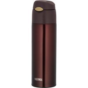 水筒 真空断熱 ストローボトル550ml ブラウン FHL-550 BW サーモス|livingheart