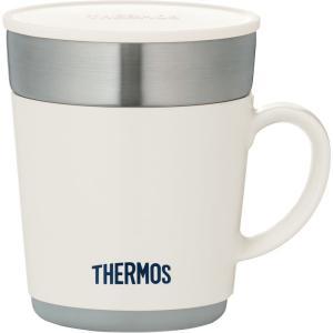 保温マグカップ 350ml ホワイト JDC-351WH サーモス                   |livingheart