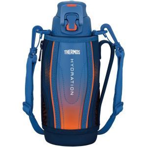 水筒 真空断熱スポーツボトル  ワンタッチオープンタイプ 0.8L ブルーグラデーション FFZ-802F BL-G サーモス livingheart