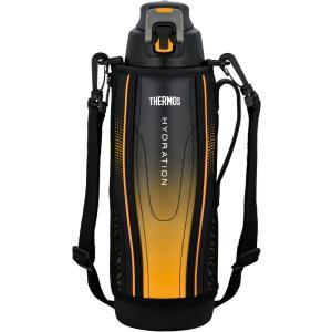 水筒 真空断熱スポーツボトル  ワンタッチオープンタイプ 1.5L ブラックグラデーション FFZ-1502F BK-Gサーモス livingheart