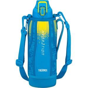 水筒 真空断熱スポーツボトル ブルーカモフラージュ 1.0L FHT-1000F BL-C サーモス livingheart