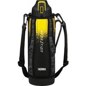 水筒 真空断熱スポーツボトル ブラックカモフラージュ 1.5L FHT-1500F BK-C サーモス livingheart