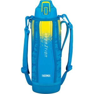 水筒 真空断熱スポーツボトル ブルーカモフラージュ 1.5L FHT-1500F BL-C サーモス livingheart