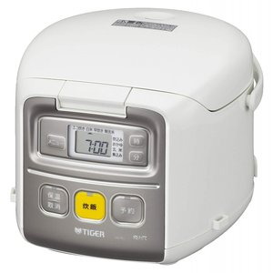 炊飯器 3合 一人暮らし用 マイコン ホワイト 炊きたて ミニ JAI-R551-W タイガー|livingheart