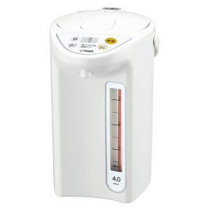 マイコン 電気 ポット 4L ホワイト PDR-G401-W タイガー 魔法瓶 livingheart