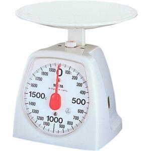 クッキングスケール タニタ アナログ1kg/10g ホワイト 1439-WH 電池不要|livingheart