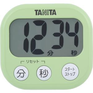 タニタ でか見えタイマー100分 ピスタチオグリーン TD-384-GR|livingheart