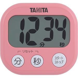 タニタ でか見えタイマー100分 フランボワーズピンク TD-384-PK|livingheart