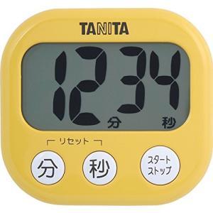 タニタ でか見えタイマー100分 マンゴーイエロー TD-384-MY|livingheart