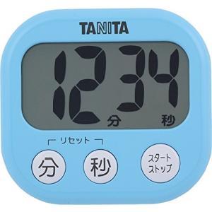 タニタ でか見えタイマー100分 アクアミントブルー TD-384-BL|livingheart