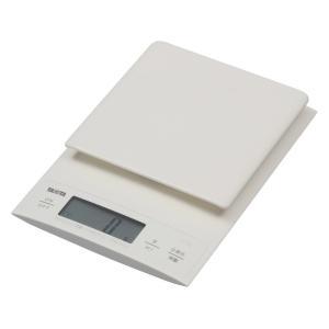 クッキングスケール タニタ デジタル3kg/0.1g ホワイト KD-320-WH パン作りにおすすめ|livingheart