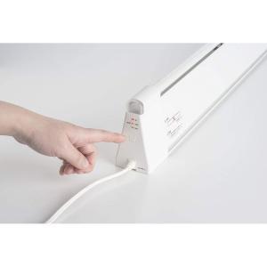 コールドドラフト防止ヒーター 電気ヒーター チャペ CHAPE 温度調節付タイプ・110W・幅1280mm CDH128110-C|livingheart