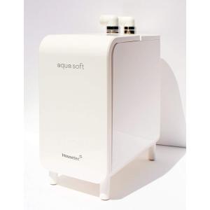 ハウステック シャワー用軟水器 アクアソフト BAQ-S1202 軟水シャワー aqua soft|livingheart