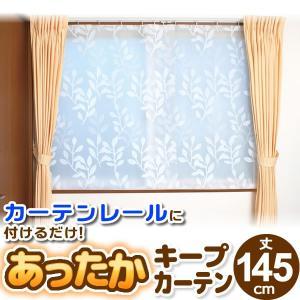 窓からの冷気を防ぐあったかキープカーテン腰高窓用 幅110×丈145cm 2枚入り SX-064 ワイズ |livingheart