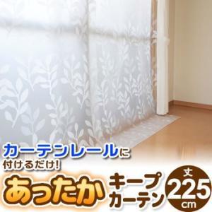 窓からの冷気を防ぐあったかキープカーテン掃き出し窓用 幅110×丈225cm 2枚入り SX-065 ワイズ