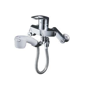 キッチン用水栓 TOTO 壁付き ハンドシャワー 寒冷地向け TKY136Z|livingheart