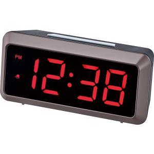 LED時計 MAG  デジタルLED  ドム ブラウン T-676  BR|livingheart