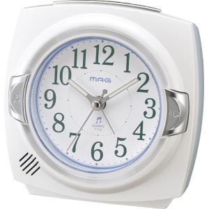 目覚まし時計 MAG カペルマ アラームクロック ホワイト T-712 WH-Z|livingheart