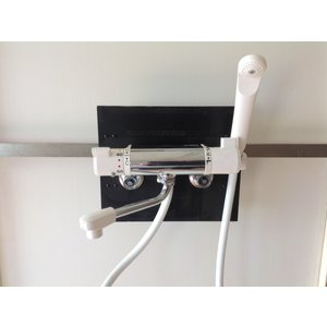 壁付けサーモスタット式シャワー混合栓 KVK  PS60K 寒冷地仕様可能|livingheart