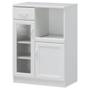 食器棚 白井産業 マルチストッカー セシルナ CEC-9065SL|livingheart
