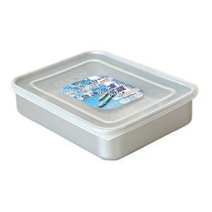 保存容器 ・アルミ急冷 クイッキー 浅型大 2.0L アカオアルミ|livingheart