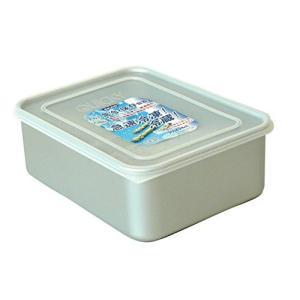 保存容器 クイッキー 深型 大 アルミニウム合金(アルマイト)、蓋(ポリエチレン) アカオアルミ|livingheart