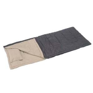 セレナ封筒型シュラフ800ピロー付 ブラック M-3441 BK キャプテンスタッグ|livingheart