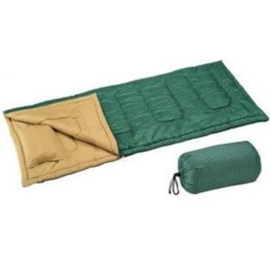 寝袋 セレナ封筒型シュラフ800ピロー付 グリーン M-3444 G キャプテンスタッグ|livingheart