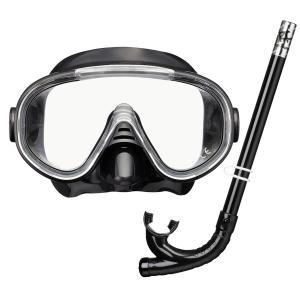 タバタ 2点セット 男女兼用 マスク&スノーケル セット RC9102 U-800003|livingheart