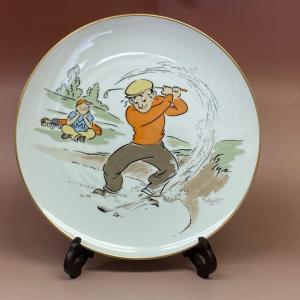 オールドノリタケ プレミアノリタケ 大皿 飾り皿 NIPPON TOKI KAISHA 径27cm SHOZO Tサイン|livingts