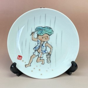 NORITAKE ノリタケ 日本陶器会社 西原比呂志デザイン 絵皿 飾り皿 livingts
