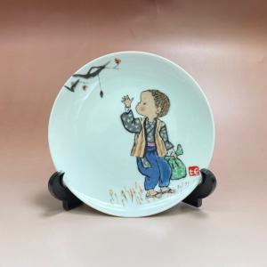 NORITAKE ノリタケ 日本陶器会社 西原比呂志デザイン 絵皿 飾り皿|livingts