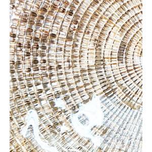 IVV イタリア製 ガラス皿 Diamante ディアマンテ シャンパンゴールド 22cm プレート(6246_8)|livingts|04