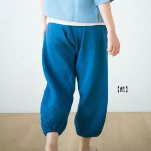 CAYA かやもんぺパンツ 綿100% 全5色|livingts|02