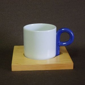 白山陶器 P型コーヒーシリーズ コーヒーカップ&ソーサー 白磁 波佐見焼  |livingts