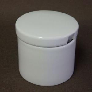 白山陶器 P型コーヒーシリーズ シュガーポット 白磁 波佐見焼|livingts