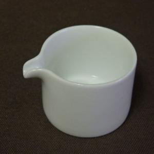 白山陶器 P型コーヒーシリーズ クリーマー 白磁 波佐見焼|livingts
