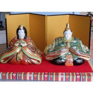 九谷焼 陶器ひな飾り livingts