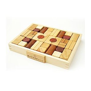 積み木 ブロック Creative blocks 森のささやきシリーズ 天然木 安全基準玩具|livingts