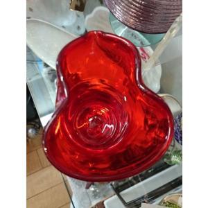 博多びいどろ 粋工房 ガラス酒器 ひょうたん型 赤|livingts